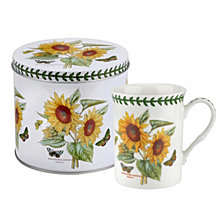 Botanic Garden Mug and Tin Set - Sunflower