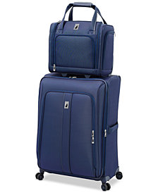 "London Fog Knightsbridge II 15"" Wheeled Under-Seat Carry-On Suitcase"