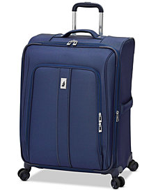 "London Fog Knightsbridge II 25"" Expandable Spinner Suitcase"