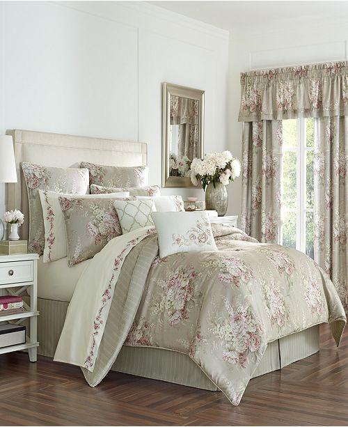 Royal Court Sloane Blush King Comforter Set