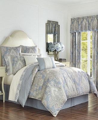 Royal Court Palermo Blue King Comforter Set Amp Reviews