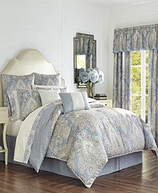 Royal Court Palermo Blue King Comforter Set