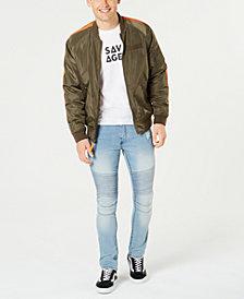 American Rag Men's Bomber Jacket, Vapor Moto Jeans & Savage T-Shirt, Created for Macy's