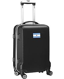 "21"" Carry-On Hardcase Spinner Luggage - Argentina Flag"