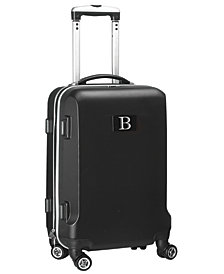 Luggage Carry-On 21-Inch Hardcase Spinner 100% Abs With Letter B