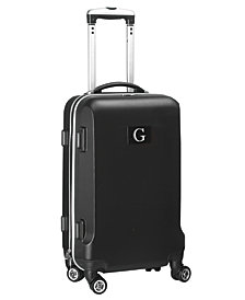 """21"""" Carry-On Hardcase Spinner Luggage - 100% ABS With Letter G"""
