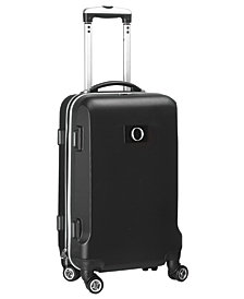 """21"""" Carry-On Hardcase Spinner Luggage - 100% ABS With Letter O"""