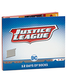 DC Comics Little Boys 12-Pk. Justice League Socks Boxed Set