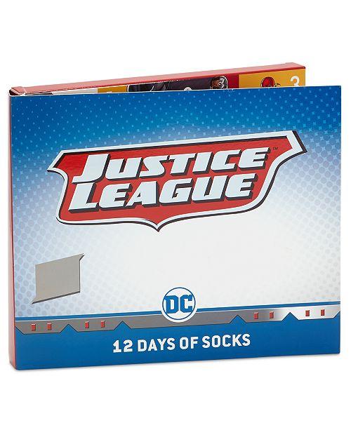100% authentic 5a583 56d77 DC Comics Little Boys 12-Pk. Justice League Socks Boxed Set ...