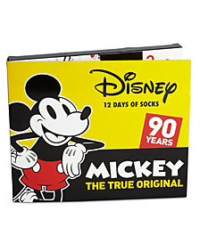 Mickey Mouse Little Boys 12-Pk. Socks Boxed Set