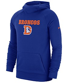 Nike Men's Denver Broncos Dri-FIT Fashion Hoodie