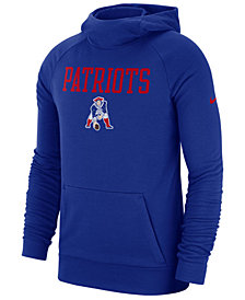 Nike Men's New England Patriots Dri-FIT Fashion Hoodie