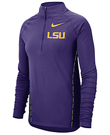 Nike Women's LSU Tigers Element Half-Zip Pullover
