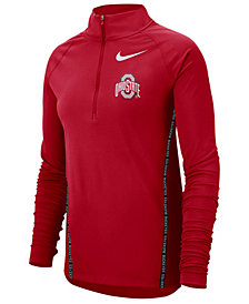 Nike Women's Ohio State Buckeyes Element Half-Zip Pullover