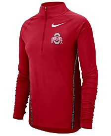 Nike Women's Ohio State Buckeyes Element Half-Zip Pullover
