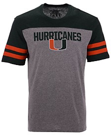 '47 Brand Men's Miami Hurricanes Tri-Colored T-Shirt
