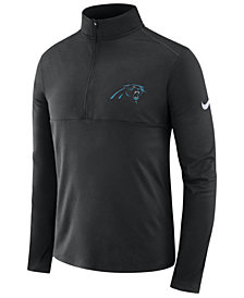 Nike Men's Carolina Panthers Core Modern Quarter-Zip Pullover
