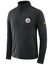 Nike Men's Pittsburgh Steelers Core Modern Quarter-Zip Pullover