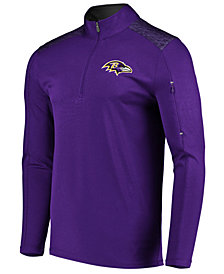 VF Licensed Sports Group Men's Baltimore Ravens Ultra Streak Half-Zip Pullover