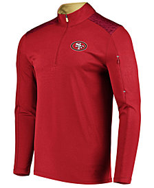 VF Licensed Sports Group Men's San Francisco 49ers Ultra Streak Half-Zip Pullover