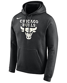 Nike Men's Chicago Bulls Essential Logo Pullover Hoodie