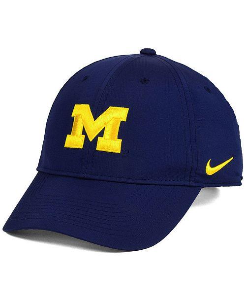 Macys Furniture Outlet Michigan: Nike Michigan Wolverines Dri-Fit Adjustable Cap & Reviews