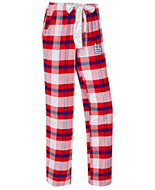 College Concepts Women's St. Louis Cardinals Headway Flannel Pajama Pants