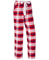 06ed8da2442a College Concepts Women's St. Louis Cardinals Headway Flannel Pajama Pants