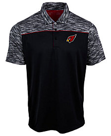Authentic NFL Apparel Men's Arizona Cardinals Final Play Polo