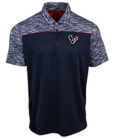 Authentic NFL Apparel Men's Houston Texans Final Play Polo