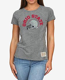 Retro Brand Women's Ohio State Buckeyes Tri-Blend T-Shirt