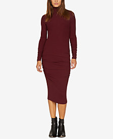 Sanctuary Ruched Knit Dress