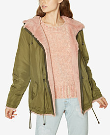 Sanctuary Faux-Fur Lined Parka