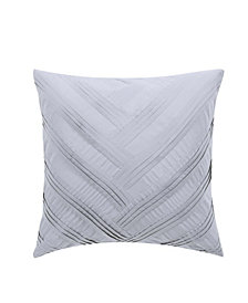 "Vince Camuto Esti Floral 16"" Square Decorative Pillow"