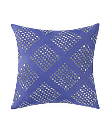 "Vince Camuto Talia Abstract 16"" Square Decorative Pillow"