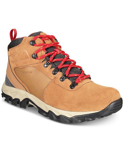 Columbia Men s Newton Ridge Plus II Waterproof Boots - All Men s ... 2b7c67d6f0
