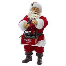 10 Inch Santa Opening Coke Tablepiece