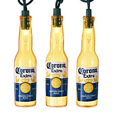 Kurt Adler 10 Light Corona Beer Bottle Light Set