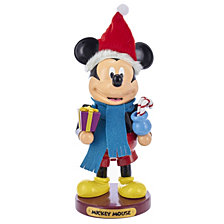 Kurt Adler 11 Inch Wooden Mickey Mouse Nutcracker