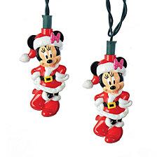 Kurt Adler Battery Operated 6 Light Minnie Mouse LED Light Set