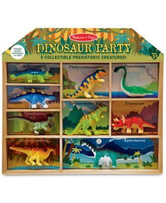 Melissa & Doug Dinosaur Party Play Set - Dinosaur Toy