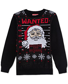 Jem Big Boys Wanted Santa Sweater