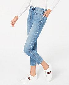 Joe's Jeans The Charlie Studded Skinny Jeans