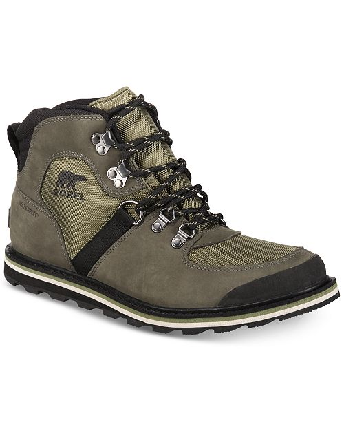 85b99edfc9d Sorel Men's Madson Sport Waterproof Hiker Boots & Reviews - All ...