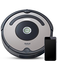 iRobot Roomba® 677 Wi-Fi Connected Robot Vacuum