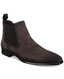 Massimo Emporio Men's Suede Chelsea Boots, Created for Macy's