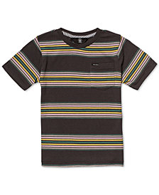 Volcom Toddler Boys Idle Crew Color-Stripe T-Shirt
