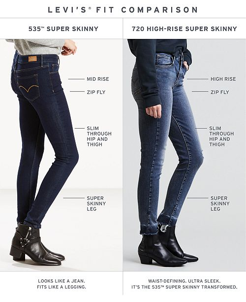 f31b78740a457 535™ Super Skinny Jeans. 231 reviews. 1 Questions   5 Answers. Levi s  535 trade  Super ...