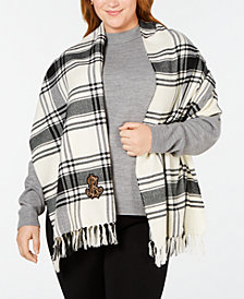 Lauren Ralph Lauren Iconic Plaid Blanket Wrap