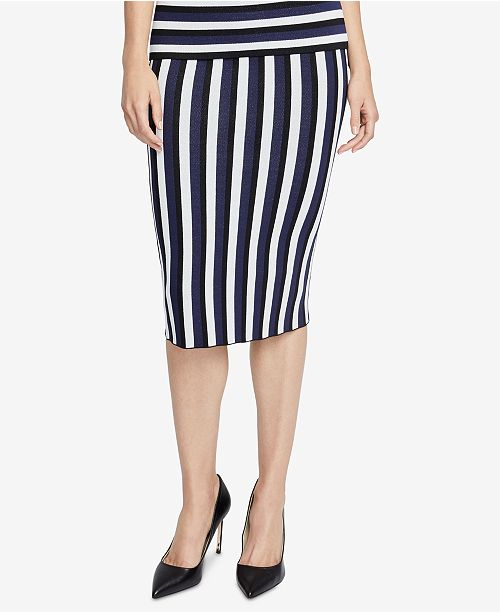 74c471dd14 ... RACHEL Rachel Roy Striped Sweater Skirt, Created for Macy's ...